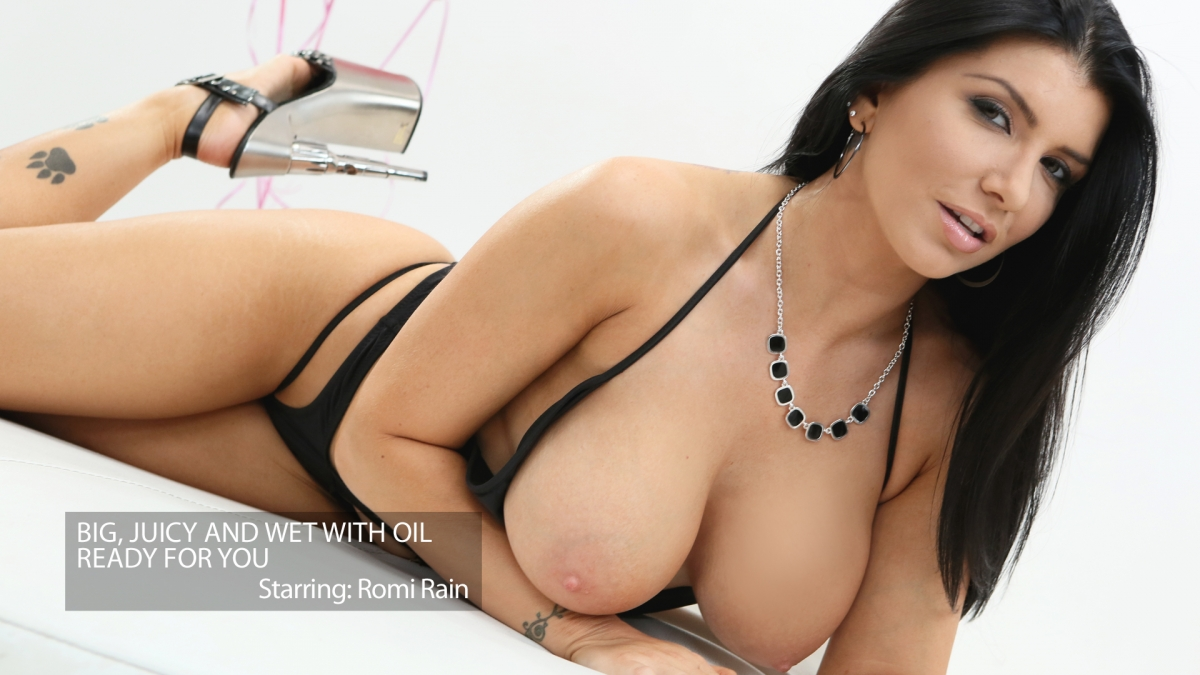 Romi's Tits Are Wet and Ready Fo