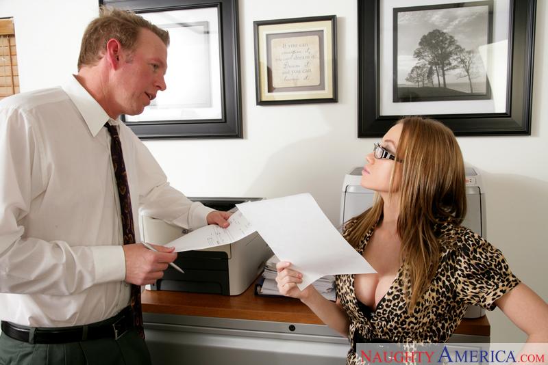 Naughty Office - Madison Scott &