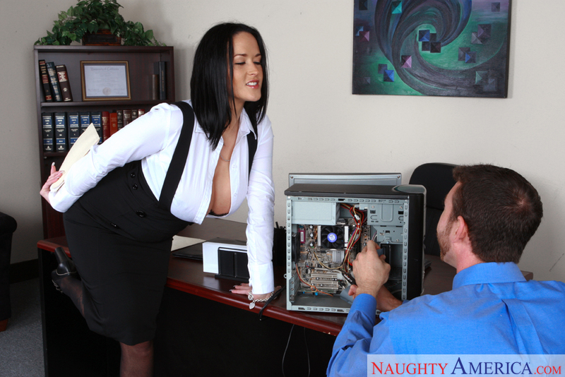Naughty Office - Carmella Bing &