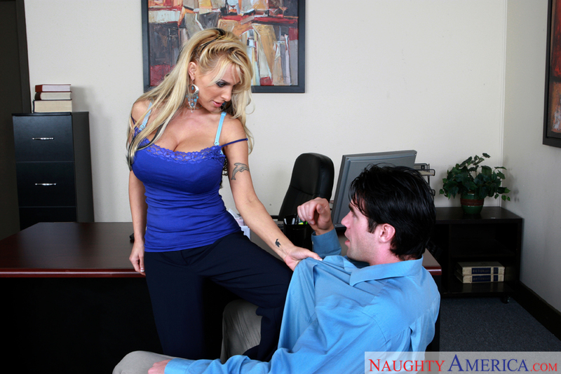 Naughty Office - Holly Halston &