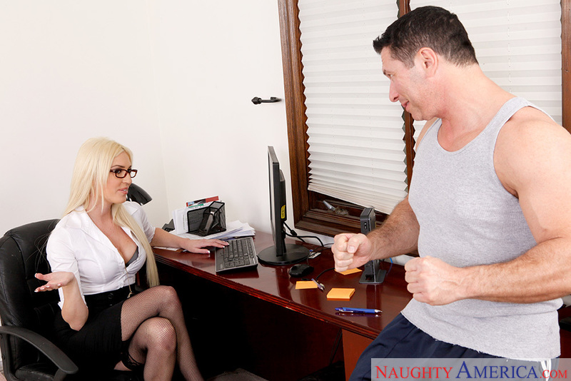 Naughty Office - Victoria White