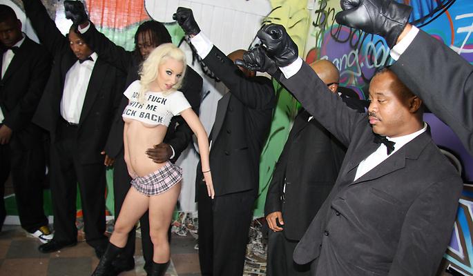 Jada Stevens - Interracial Blowb