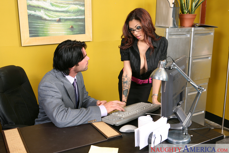 Naughty Office - Adrenalynn & Ch