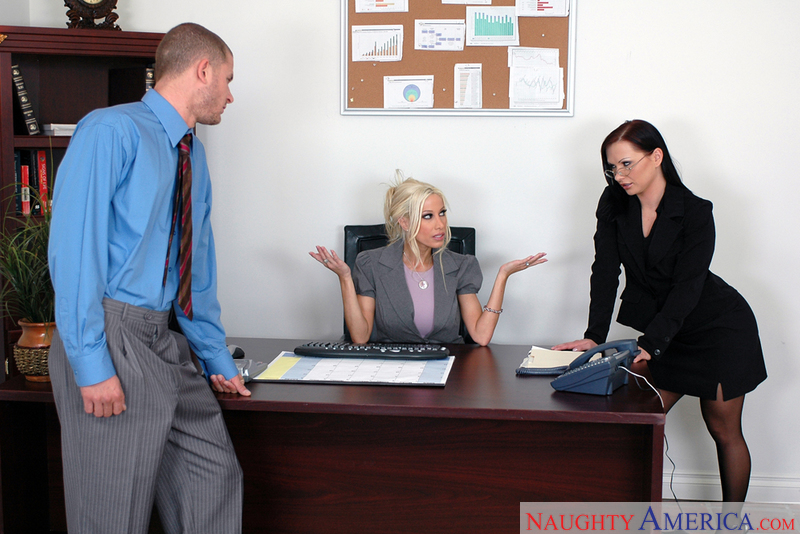 Naughty Office - Gina Lynn & Kat