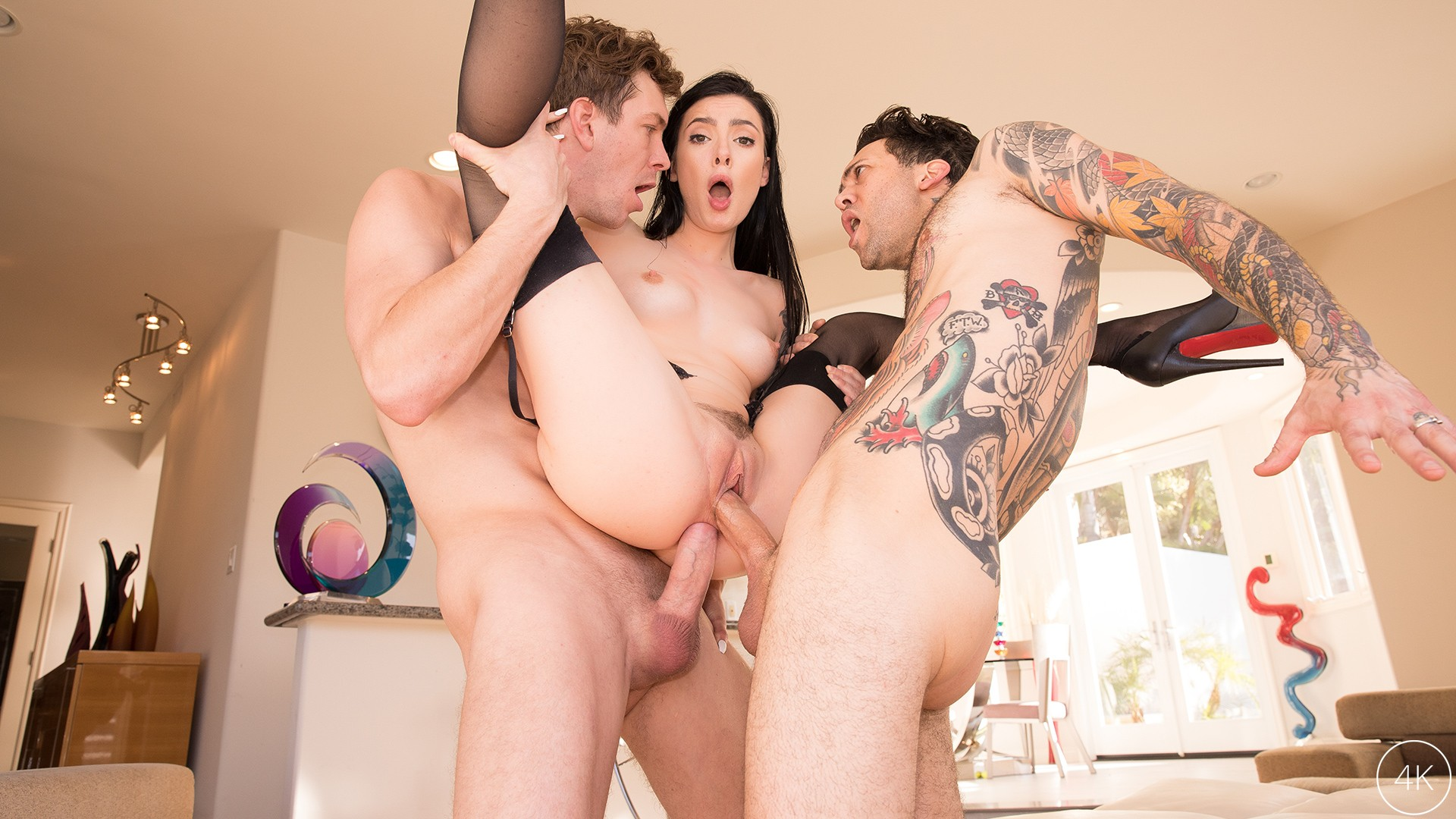 Marley Brinx Receives An Intense