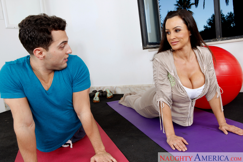 Naughty Athletics - Lisa Ann & M