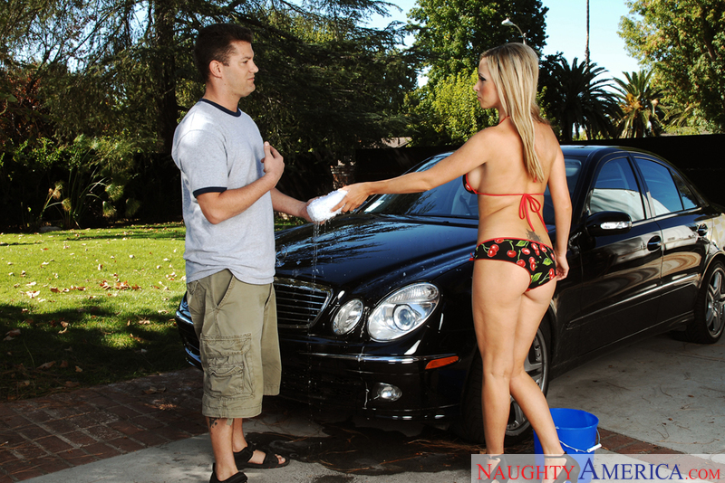 Neighbor Affair - Nikki Benz & C
