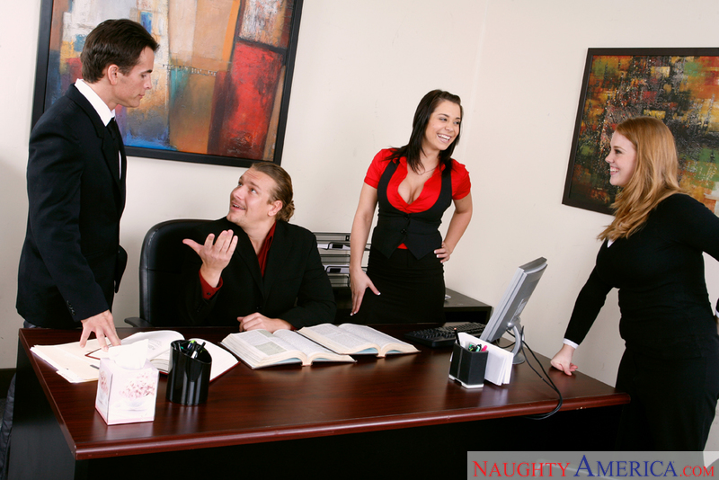 Naughty Office - Beverly Hills &