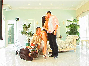 Backstage of Double Anal Angel
