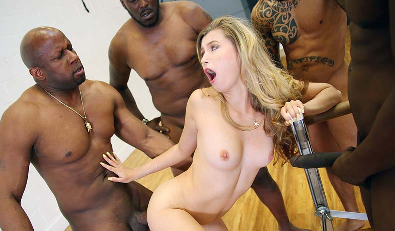Blacks On Blondes - Carolina Swe
