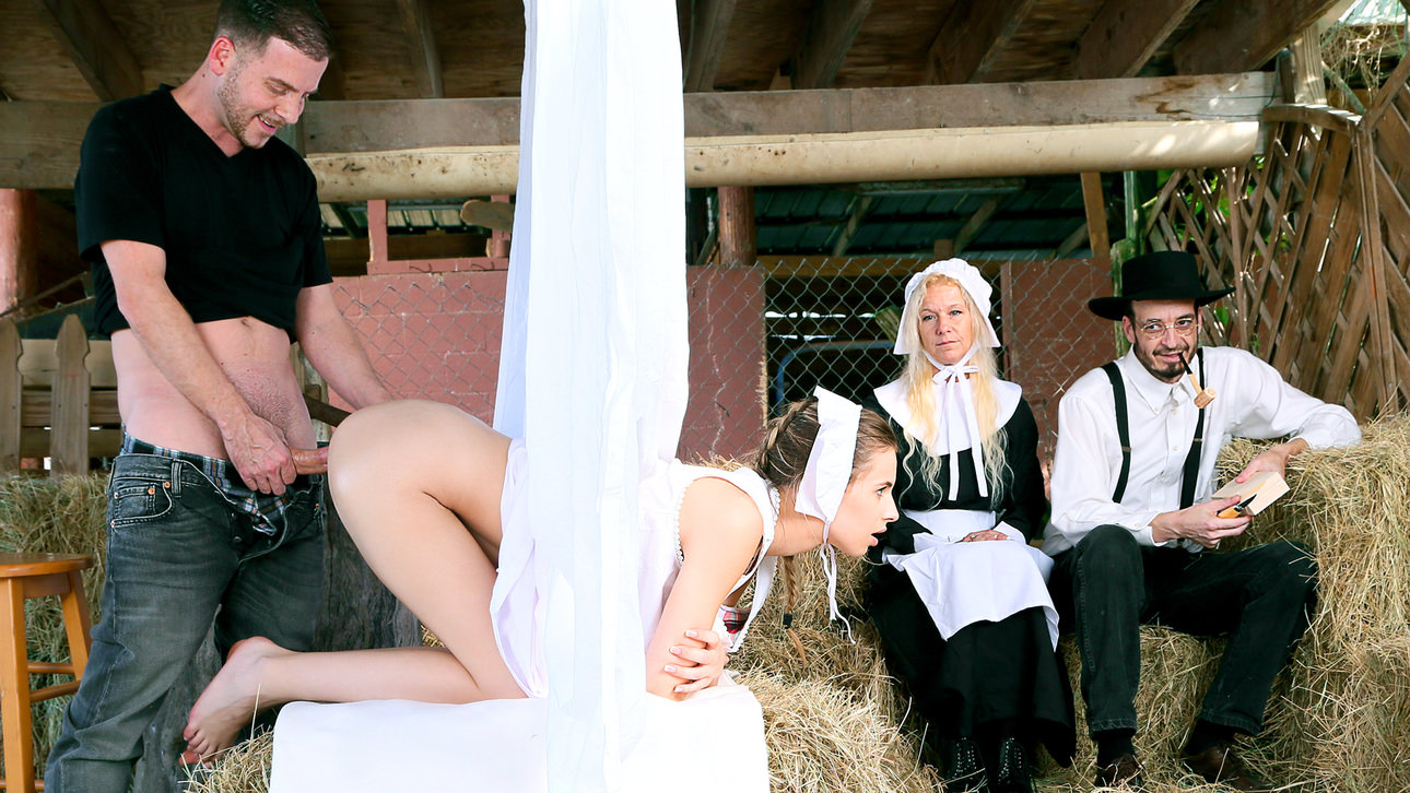 Amish Girls Go Anal Part 1: Time