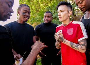 Interracial Gangbang Tryouts Vol
