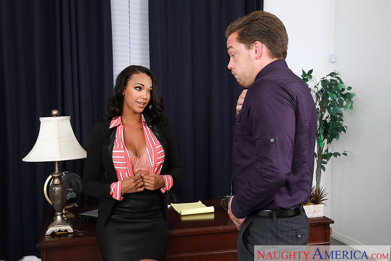 Naughty Office - Harley Dean & K