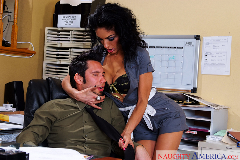 Naughty Office - Persia Pele & T