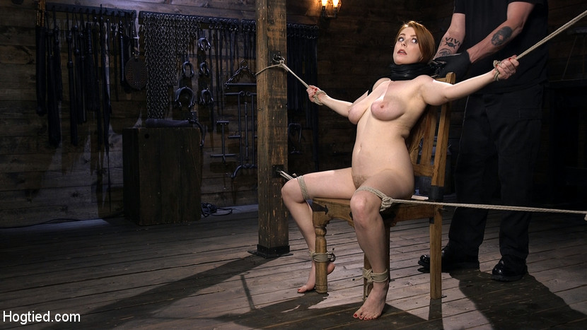 Red Headed Slut is Bound, Tormen