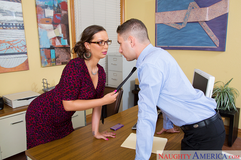 Naughty Office - Sydney Leathers