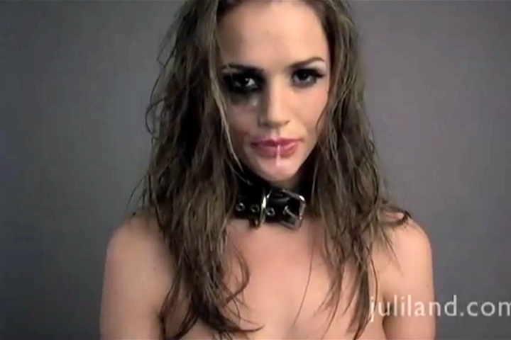 Tori Black Gagging