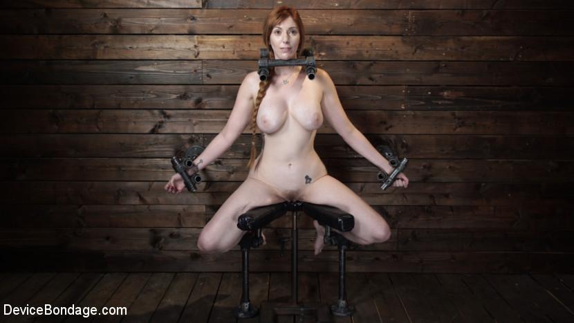 Lauren Phillips: Helpless Redhea