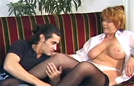Old Woman In A Threesome