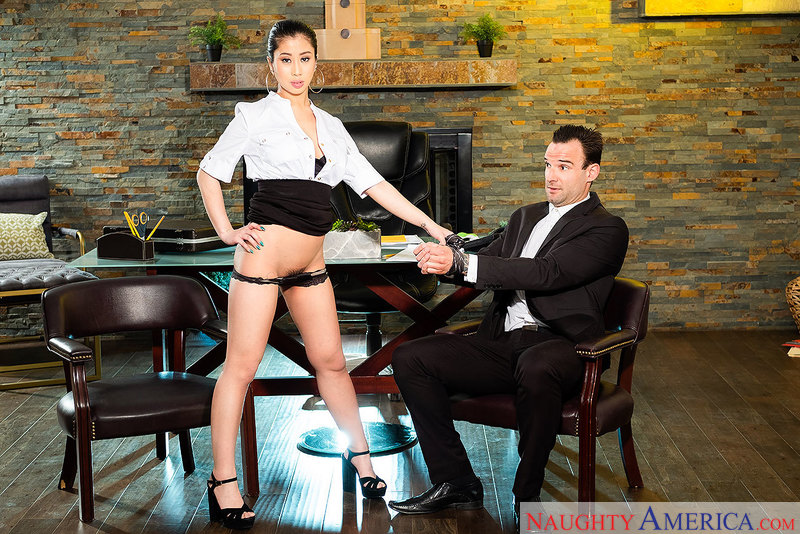 Naughty Office - Jade Kush & Ale
