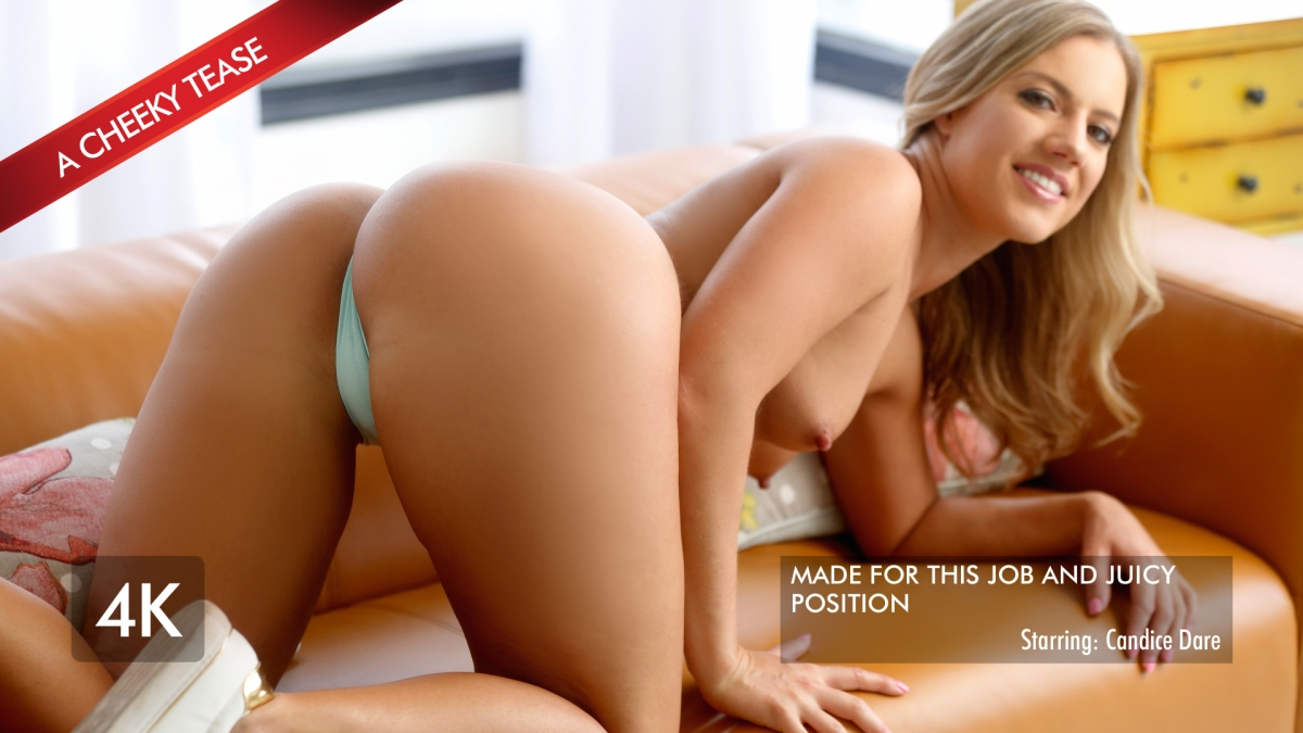 Candice Uses Her Best Assets For