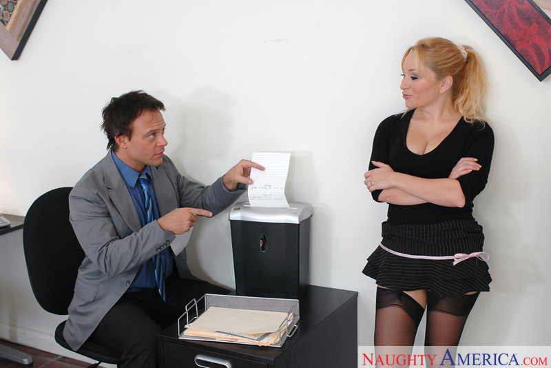 Naughty Office - Aiden Starr & K
