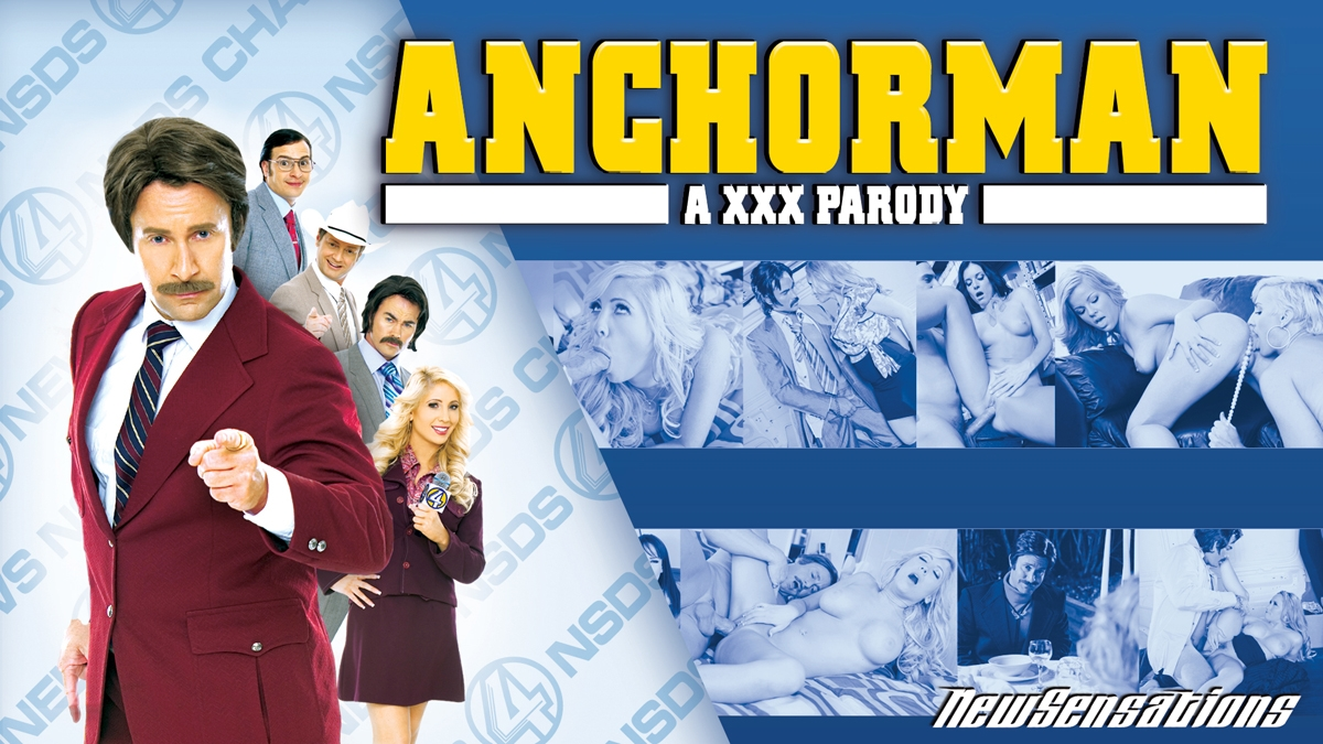 Anchorman: A XXX Parody Scène 1