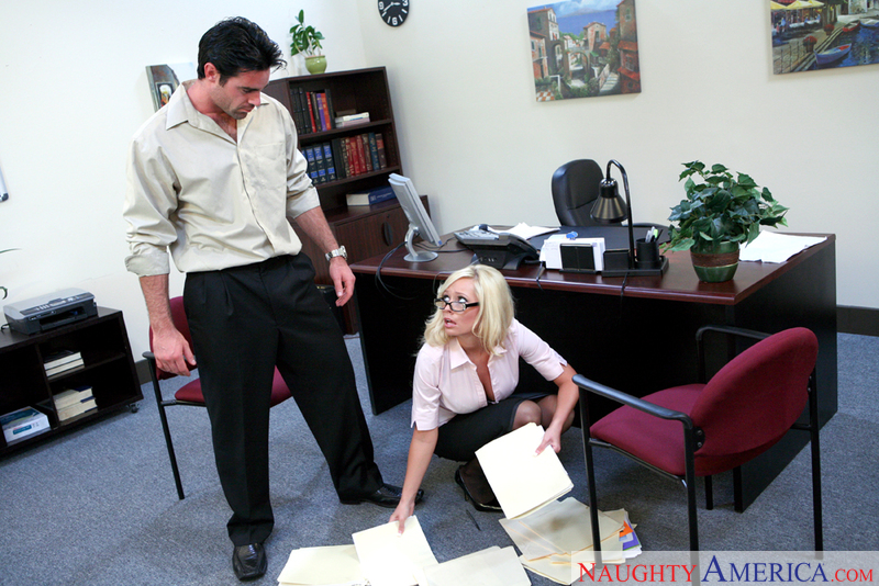 Naughty Office - Angelina Ashe &