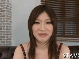 Carnal Asian pussy fingering