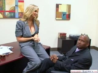 Naughty Office - Julia Ann & Prince Yahshua