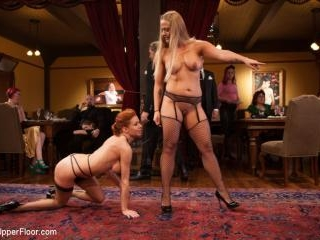 Two Gorgeous MILFs Fucked at the Anal Brunch