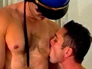 Cop Fucks Hot Hunk Ass Hard - Vince Siciliano & Ja