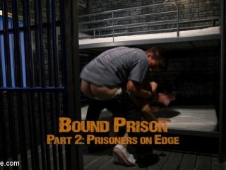 BOUND PRISON Part 2: Officer DelRay has his Prison