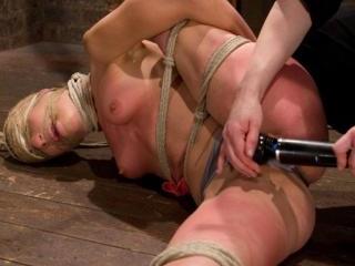 Amber Rayne Live Show Part 1 - Brutal Single Ankle