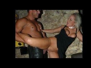 Anal riding her husbands boss