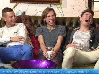 UNTOUCHED interview - Oscar Roberts, Ethan White a