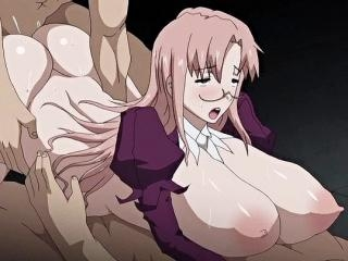 Horny horror anime clip with uncensored bondage, a