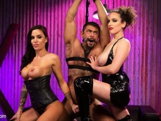 Man Training: Gia Dimarco and Mistress Blunt Domin