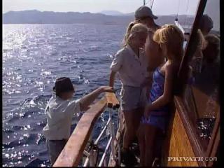 Dora Venter Blond Panni Alexa Schiffer in Boat or
