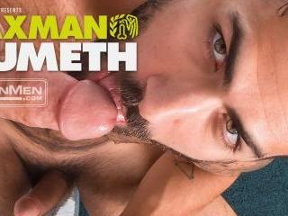 TAXMAN CUMETH: Adam Ramzi gives Nick Prescott an i