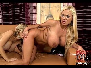 Sharon sevice\'s Carol\'s strap-on!