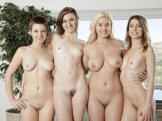 Teen Kristen Scott and friends get nasty