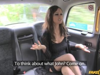 Hot Posh Lady Seduces Driver