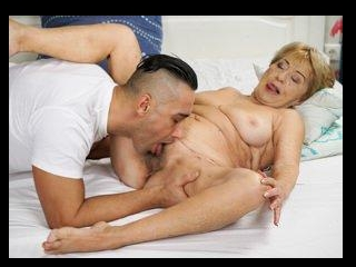 Cum On Granny!