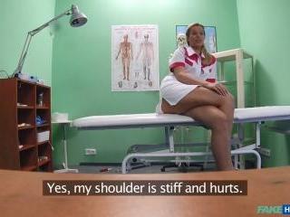 Flirting Nurse Goes All The Way Through