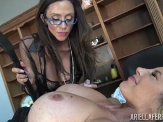 Office Domination with Ariella Ferrara and Puma Sw