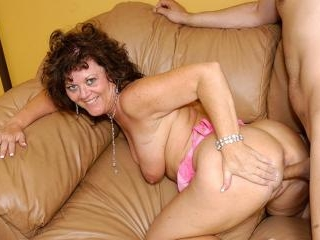 Nasty Whore Grandma Fucks