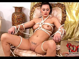 Bound and partially dicked!