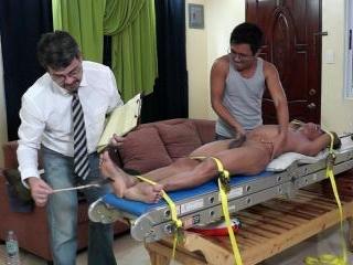 A Very Ticklish Patient