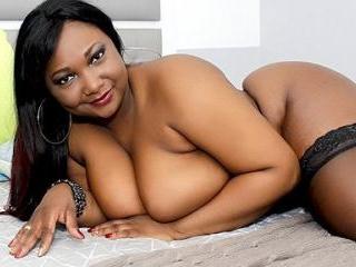 Busty Ebony Bigbussty Shows Off Her Assets